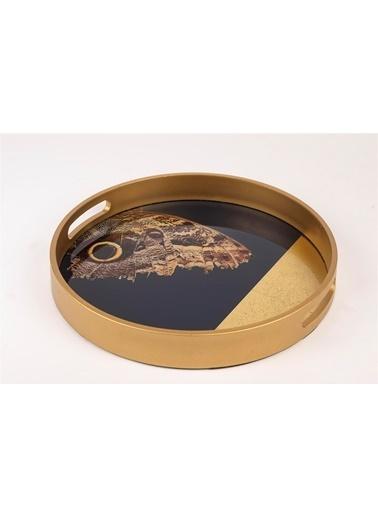 Mikasa Moor Kelebek Kanatlı Yuv Tepsi 30cm Renkli